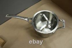 Calphalon Signature Stainless Steel 10 Piece Cookware Set Flambant Neuf