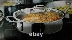 Calphalon Tri-ply En Acier Inoxydable De 13 Pièces Batterie De Cuisine Tout Neuf