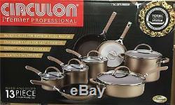 Circulon Premier Professionnel 13 Pièces Anodisé Dur Cookware Set