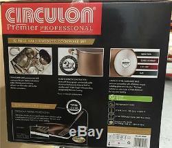 Casserole Antiadhésive Circulon Premier Professional Anodisée Dure De 13 Pièces, Batterie De Cuisine