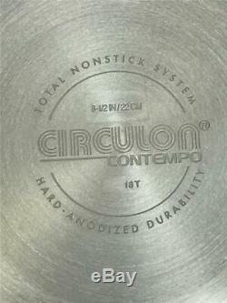 Circulon Contempo 13 Pièces Batterie De Cuisine Antiadhésive En Aluminium 83915-t Nouveau