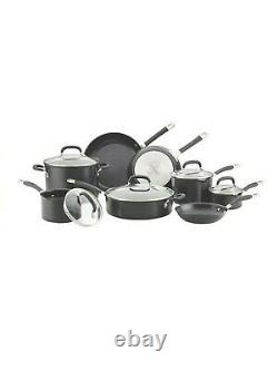 Circulon Premier Hard Anodised Induction 13 Piece Cookware Set In Black
