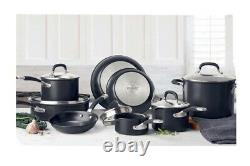 Circulon Premier Hard Anodised Induction 13 Piece Cookware Set In Black. K