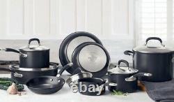 Circulon Premier Professional Hard Anodized 13 Piece Non Stick Cookware Set Nouveau