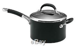 Circulon Professional Premier Dur Anodisée Batterie De Cuisine, Noir 5 Piece Pan