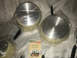 Club Aluminum Cookware Ensemble De 10 Pièces New Old Stock No Box