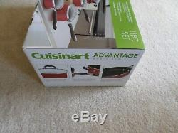Cuisinart 55-11r Avantage Antiadhésives 11 Pièces Batterie De Cuisine Rouge Tout Neuf