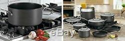 Cuisinart 64-13 Contour Dur Anodisée 13 Pièces Batterie De Cuisine
