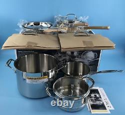 Cuisinart Cuisinart Classic Pro 11 Pièces En Acier Inoxydable #no0572