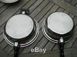 Cuisine Craft 5 Ply En Acier Inoxydable Batterie De Cuisine 11 Pièces Made In USA