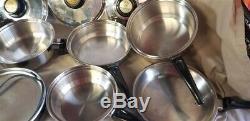 Cuisine Craft 5 Ply En Acier Inoxydable Batterie De Cuisine 13 Pièces Made In USA