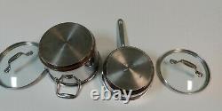 Emeril All Clad Copper Cookware Set 8 Pièces De Base