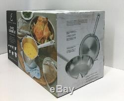 Emeril Lagasse 12 Pièces En Acier Inoxydable Batterie De Cuisine Set-