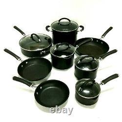 Ensemble D'articles De Cuisine Circulon 13 Pièces Premier Professionnel Anodisé Non-stick Pans