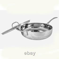 Ensemble D'articles De Cuisine En Acier Inoxydable À 5 Couches Le Chef 6 Pièces, Vente