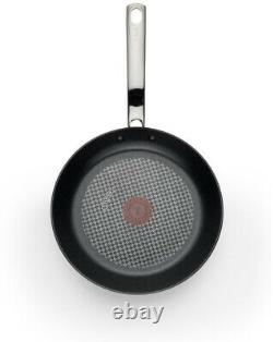Ensemble D'articles De Cuisine T-fal En Verre Éventé Classique 10 Pièces En Aluminium Sans Soudure