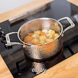 Ensemble De Casseroles En Cuivre Triple Layer 5 Piece Professional Cookware