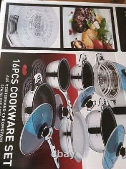 Ensemble De Produits De Cuisine 16 Pièces Rosenberg Professional