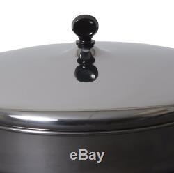 Farberware Classique En Acier Inoxydable Sauce 15 Pièces Pots Casseroles Avec Set Couvercles Batterie De Cuisine