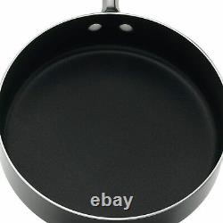 Farberware Millennium Colors Non-adhésif Aluminium 12-piece Cookware Set, Noir
