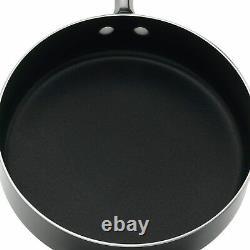 Farberware Millennium Colors Nonstick Aluminium 12-piece Cookware Set, Noir