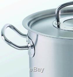 Fissler Set Original-profi Collection 9 Pièces Batterie De Cuisine Pot Avec Verre Nouveau Couvercles