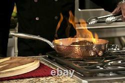 Gotham Acier Casseroles Et Poêles Premium Set Batterie De Cuisine En Céramique Avec Triple Couche