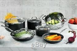 Granite Pierre 20 Pièces Tout En Un Cuisine, Batterie De Cuisine Antiadhésives & Set Ustensiles De Cuisson, Nouveau