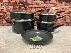 Greenpan New York Pro Ceramic Nonstick Cookware 9-piece Set Nouveau Sans Boîte
