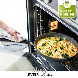 Greenpan Niveaux Superposable Anodisé 11 Pièces Batterie De Cuisine