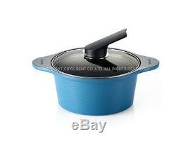 Happycall Casserole De Batterie De Cuisine 10 Pièces Cuisine Aluminium Revêtement En Céramique Bon Appel