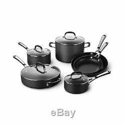 IL Suffit Calphalon Nonstick 10 Piece Cookware Set (sa10h) 10 Pièces