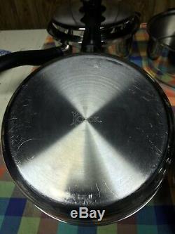 Icook Amway Multiplis Batterie De Cuisine 10 Pièces Set Pan Pot À Vapeur Chaudière Excellente