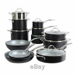 Induction En Céramique Procook Professionnelle Batterie De Cuisine 12 Pièces Pts Et Casseroles