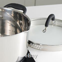 Induction Procook Gourmet Batterie De Cuisine En Acier 10 Pièces