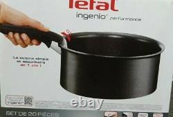 Ingenio Performance L6547802 Ensemble D'articles De Cuisine De 20 Pièces