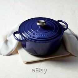 Le Creuset 16 Ustensiles De Cuisine Pièce Fixée Bleu Japon F / S