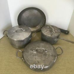 Magnalite Ghc Aluminium Camping Pots / Pans Ensemble De 7 Pièces