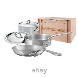 Mauvel M'cook Kit D'articles De Cuisine En Acier Inoxydable De 5 Pièces