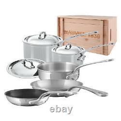 Mauvel M'cook Kit D'articles De Cuisine En Acier Inoxydable De 8 Pièces
