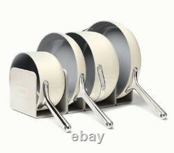 New Caraway 7-piece Cookware Set Non-stick Céramique Coated Non-toxic Cream Couleur