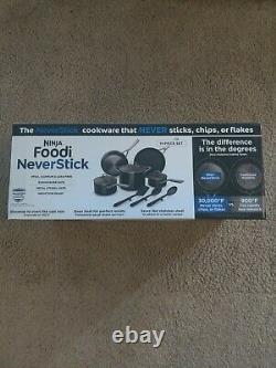 Ninja Foodi Neverstick 11-piece Cookware Ensemble Garanti De Ne Jamais Coller Nouveau