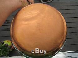 Nos Vintage Revere Ware Copper Bottom 13 Piece Set-pocheuse, Poêlon, Stock Pot