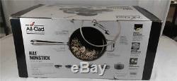 Nouveau All Clad Ha1 Non Stick 10 Piece Pot & Pan Batterie De Cuisine E785sc64