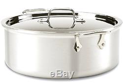 Nouveau All-clad Professional Master Chef 2 Batterie De Cuisine Inox Set, 7 Pièces, Argent