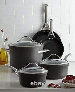 Nouveau Calphalon Contemporary Nonstick 8-piece Cookware Set Ustensiles De Cuisine Pdsf 499 $
