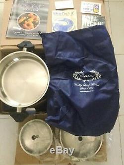 Nouveau Dans L'emballage Carico Cookware Gourmet Set 10 Pièces Couvercle De Casseroles Pour Casseroles Ultra Tech II
