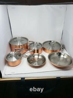 Nouveau Outo Box Calppalon T10 Tri-ply Copper & Inoxydable Cookware Cookware