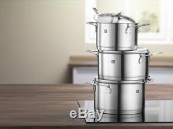 Nouveau Zwilling Batterie De Cuisine De Base 5 Piece Set Casserole Casserole Cuisine Save Véritable