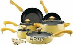 Paula Deen Signature 12513 Batterie De Cuisine Antiadhésives Casseroles Et Poêles Set 15 Pièces